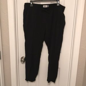 Old Navy Black Pants Size Large
